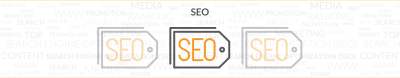 outside communications search engine optimization logo with three s.e.o. tag images